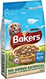 Bakers Complete Dog Food Tender Meaty Chunks Tasty Chicken and Country Vegetables, 5 kg