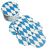 Bierdeckel Bayern | 25 Stück | Rund | Doppelseitig bedruckt | Bayerischer Style
