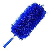cleansgreen plumero de microfibra: con su extensión poste extensible para quitar el polvo y limpieza | no requiere de recambios