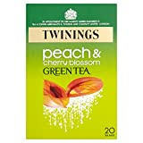 Twinings Green Peach And Cherry Blossom, 20 Tea Bags