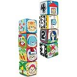 set 4 cubos tela