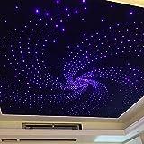 Glasfaser-RGB-LED-Sternenhimmel, Set mit Projektor, 16Watt, mit 330 Lichtfasern, für 3,5m- Durchmesser, Farbtherapie