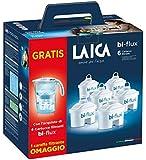 Laica Stream Line Kit 6 filtri + caraffa filtrante bianca