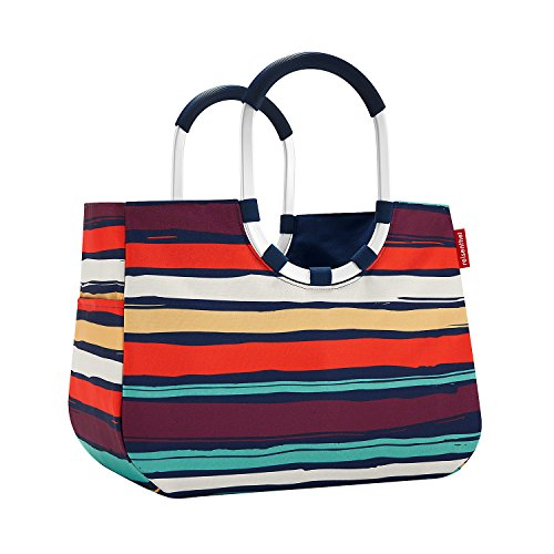 reisenthel loopshopper L 46 x 34,5 x 25 cm 25 Liter artist stripes -