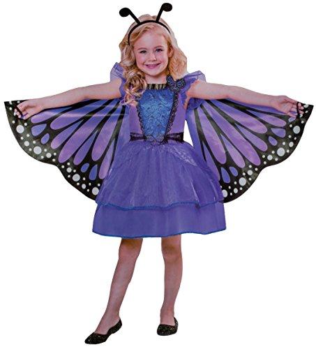 n Kostüm Verkleidung Fasching Karneval Party - Schmetterling, S (Schmetterling Prinzessin Kostüm)