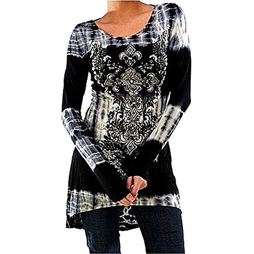 Inlefen Blusas Tallas Grandes Camisetas Góticas Vestidos Vintage...
