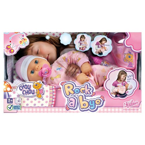 Zapf Creation 903292 CHOU CHOU - Muñeco interactivo