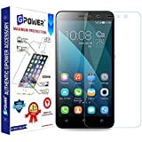 G-POWER ®2.5D 0.3mm Tempered Glass Screen Protector for Honor 4X with Installation Kit