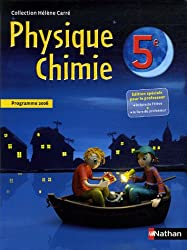PHYS-CHIMIE 5E ELEVE + PROF 06