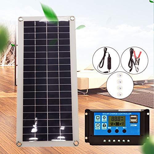 TiooDre Solarmodul,20 watt 12 v Solarpanel doppel USB solar Panel ladegerät Controller Outdoor Camping led licht polykristalline silikon Batterie solar Panel