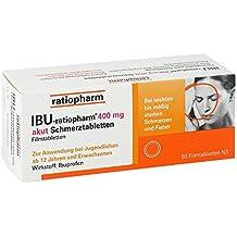 Ibu-ratiopharm 400 mg akut Tabletten, 50 St.