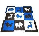 soclear–Teppich Kinder Teppich de Sol Haus Puzzle aus weichem Schaumstoff EVA–2m x 2m