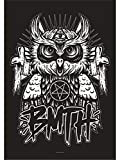 Heart Rock Licensed Flagge Bring Me The Horizon – Owl, Stoff, Mehrfarbig, 110 x 75 x 0,1 cm