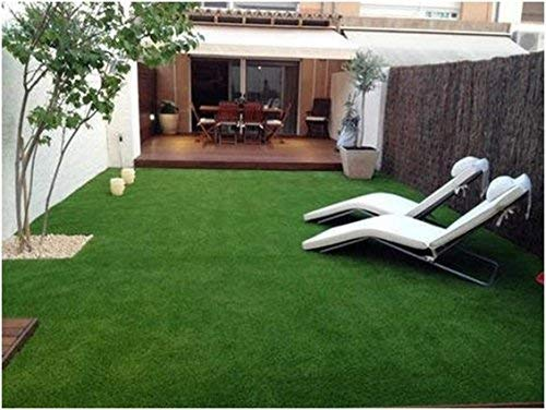 Yellow Weaves High Density Artificial Grass Carpet Mat (6.5 X 3 Feet)