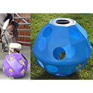 NATS Blue Equine Horse or Pony Hay Ball 50mm Holes