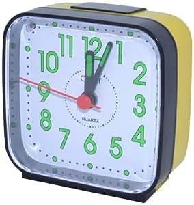 Orpat Beep Alarm Clock (Black, TBZL-167)