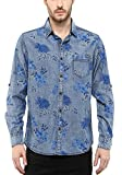 Mufti Mens Blue Slim Fit Mid Rise Casual...