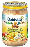 Bebivita Mini-Makkaroni mit buntem Rahmgemüse, 250 g