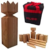 Viking Kubb Garden Game Hardwood in Canvas Bag As Seen on BBC