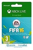 Abonnement Xbox Live Gold 12 mois [Code Digital - Xbox Live] + 1 mois EA Access