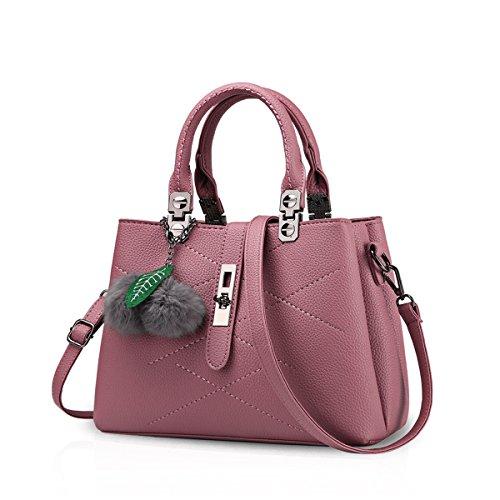 Nicole&Doris nuovo pacchetto onda signore borsa Messenger Bag donne per le donne borsa(Red-brown)