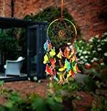 #5: Ilu Dream Catcher Wall Hanging Handmade Beaded Circular Net Decoration Ornament Size 16 Cm Diameter