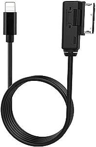 Media In Interface Adapter Kompatibel Mit Audi V W Ausgewählte Modelle Auto Ami Aux Kabel Für
