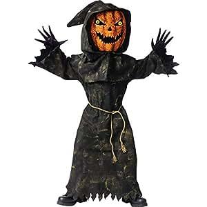Bobble Head Pumpkin Costume - Medium