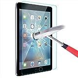 ELTD iPad Pro 9.7 / iPad Air 2 Displayschutz, Glas Folie Schutzfolie Glas Panzerfolie Displayschutzfolie für iPad Pro 9.7 / iPad Air 2 Klar Anti-Kratz Screen Protector Displayschutz - 9H Hardness aus