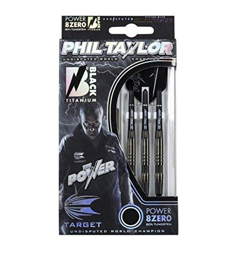Target Darts Dartpfeile-Phil Taylor Power 8Zero Titan Soft-Tip Darts
