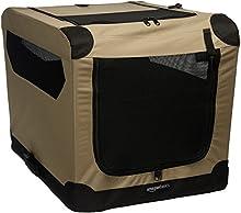 AmazonBasics - Cuccia morbida per cani, pieghevole, 66 cm