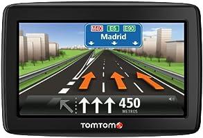TomTom Start 25 M, Navigationsgerät (Free Lifetime Maps, 13 cm (5 Zoll) Display, Fahrspurassistent, IQ Routes, Europa 48) (Zertifiziert und Generalüberholt) schwarz