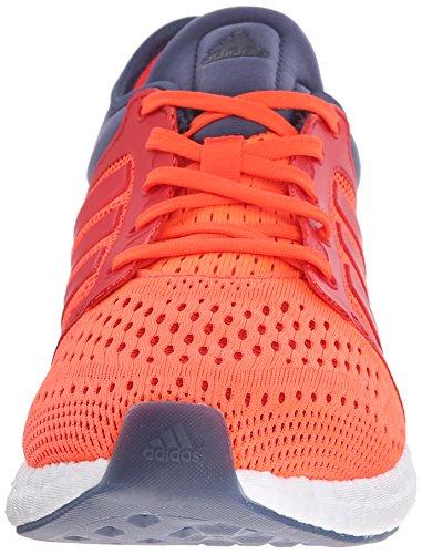 Adidas Herren CC Rocket Boost M Laufschuh Solar Red/Solar Red/Grey