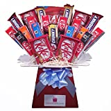 Kit Kat Chocolate Bouquet - Sweet Hamper Tree Explosion -...