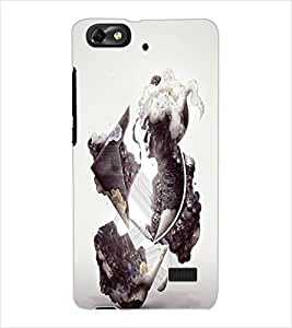 ColourCraft Creative Image Design Back Case Cover for HUAWEI G PLAY MINI