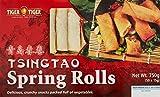 Tiger Tiger Tsingtao Spring Rolls Plus Vegetable, 750 g (Frozen)