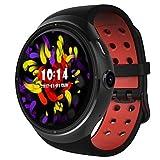 Lemumu LES LEMFO / bracelet à puce multifonction Smart Watch / Bluetooth 4.0 MTK6580 Quad-core 1,3 Ghz 1 Go / 16 Go Smart montre téléphone portable avec connexion Wi-Fi gratuite / Sim / noir,GPS