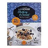 Muesli low carb di CarbZone | Muesli di cereali al cocco e mirtillo |...