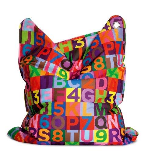 Sitting Bull 634001 Sitzsack Fashion Mini Bull / 130 x 90 cm / ABC