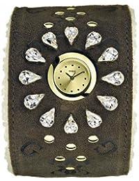 Guess Damen-Armbanduhr Analog Quarz Edelstahl I12545L1