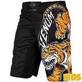Kids Shorts Venum Tiger King - Black MMA BJJ UFC Boys