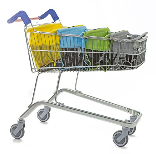 trolley bags - Bolsas para Carrito de la Compra, Color Pastel