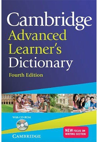 Cambridge Advanced Learner's Dictionary with CD-ROM 4th Edition: Fourth Edition