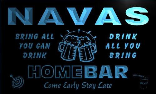 q32117-b-navas-family-name-home-bar-beer-mug-cheers-neon-light-sign