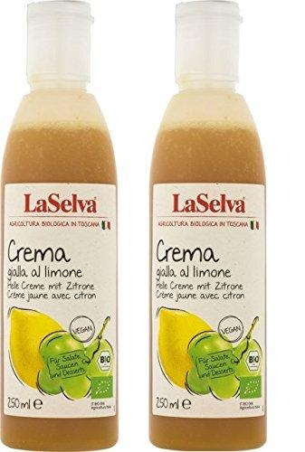 LaSelva Balsamico Creme mit Zitrone, 2x 250 ml (2 Packungen)