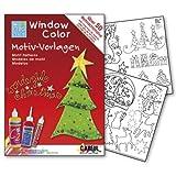 "C.KREUL 640153 - Window Color Motiv-Vorlagen ""Wonderful Christmas"""