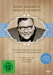 Heinz Erhardts größte Filmhits (3 Discs + Audio-CD)