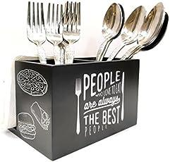 Ekdodhai Bon Appetit Cutlery & Tissue Holder