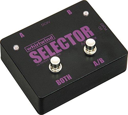 Interruptor de Selector de Whirlwind instrumento canales a y B o seleccione tanto, 1MEG Ohm Impedancia en/out
