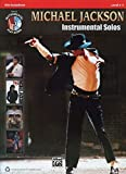 Michael Jackson Instrumental Solos für Alt Sax (Buch & CD) (Alfreds Instrumental Play-Along)